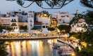 Agios Nikolaos located in the east of Crete.