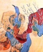 Blue Birds Fresco - Knossos