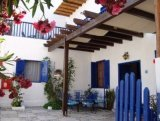 Villa Niki in Loutro - set a little bit back from the harbourside