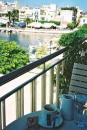 Agios Nikoloas Café du Lac, Crete Greece