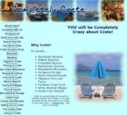 Completely Crete webpage screen shot