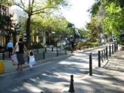 Kifissia central shopping street, north Athens