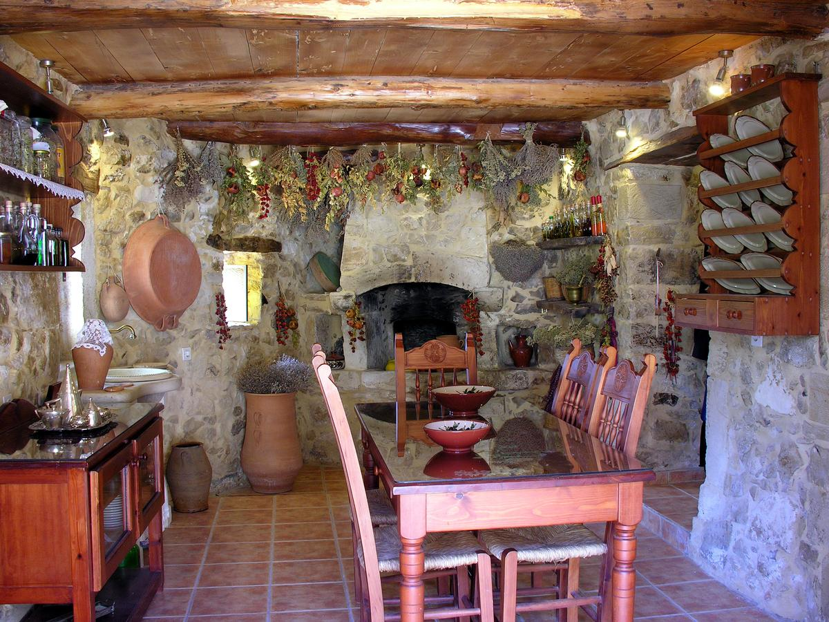 Beautiful Kouriton House, a traditional pension in Margarites Village in central Crete