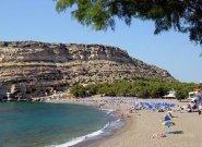 Matala Beach, Crete