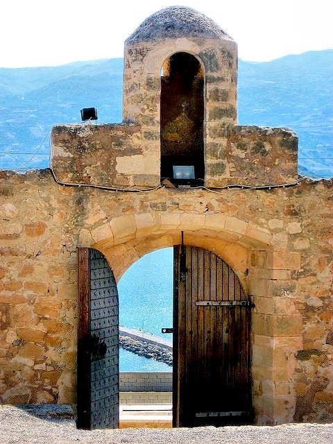 The Kazarma of Sitia overlooks the bay