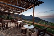 Thalori Resort looks over the Asterousia Mountains and the sea in southern Crete