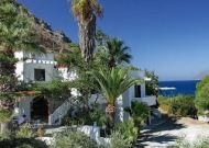 Delfini Hotel Apartments are good budget accommodation right on the beach in Kissamos
