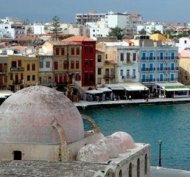 Chania Harbour - the old zone