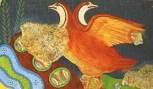 Partridge Fresco, Knossos Crete