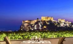The Grande Bretagne Hotel, central Athens, Greece
