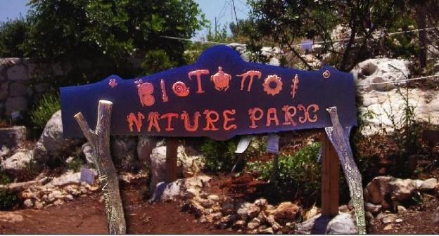 Biotopoi (Biotopes) Nature Park in Crete