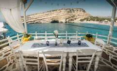 Scala Taverna, Matala Beach, Crete