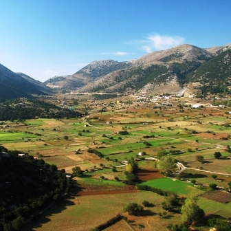 Askifou Plateau is 50 km from Chania town