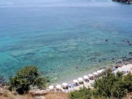 Χώρα Σφακίων also known as Sfakia, close to Sweetwater Beach in the south of Crete, Greece