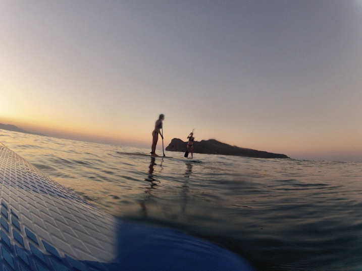 Stand Up Paddle boarding with Chania Surf Club