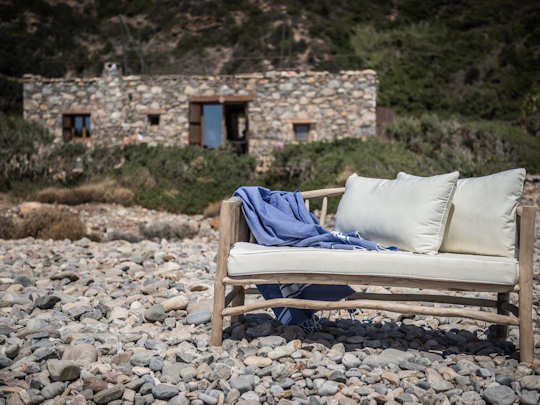 Crete Accommodation - when we say 'on the beach' - we mean 'right on the beach'