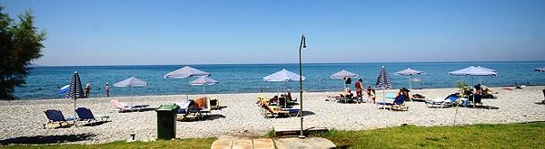 Maleme Beach, north coast