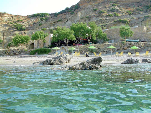 Apanemia Taverna on Small Triopetra Beach