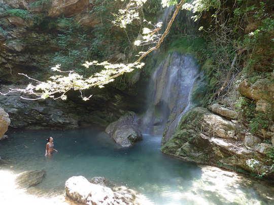 Neraida Falls (image by Kostas Limitsios)