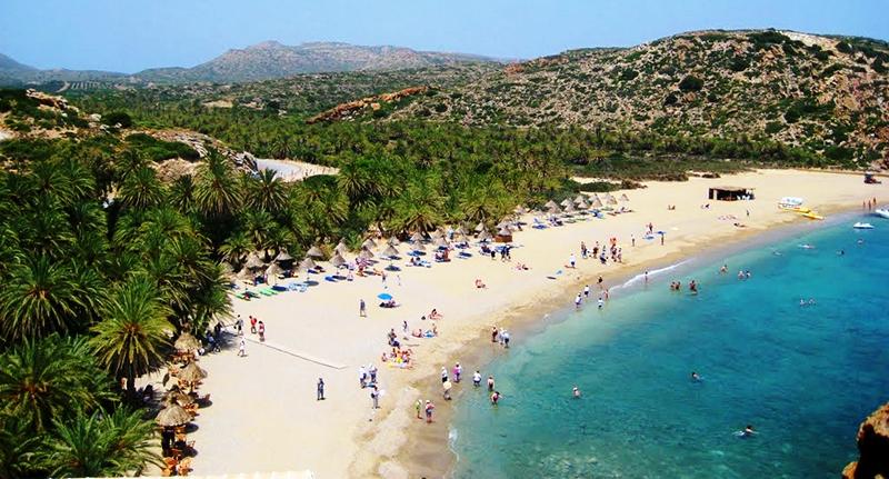 Vai Beach in Lasithi, Crete