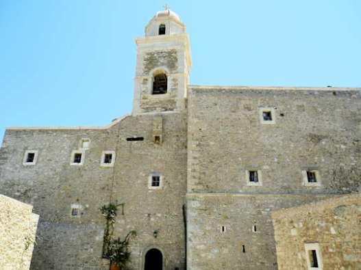 Toplou Monastery - the monks played a significant part in the history of the region