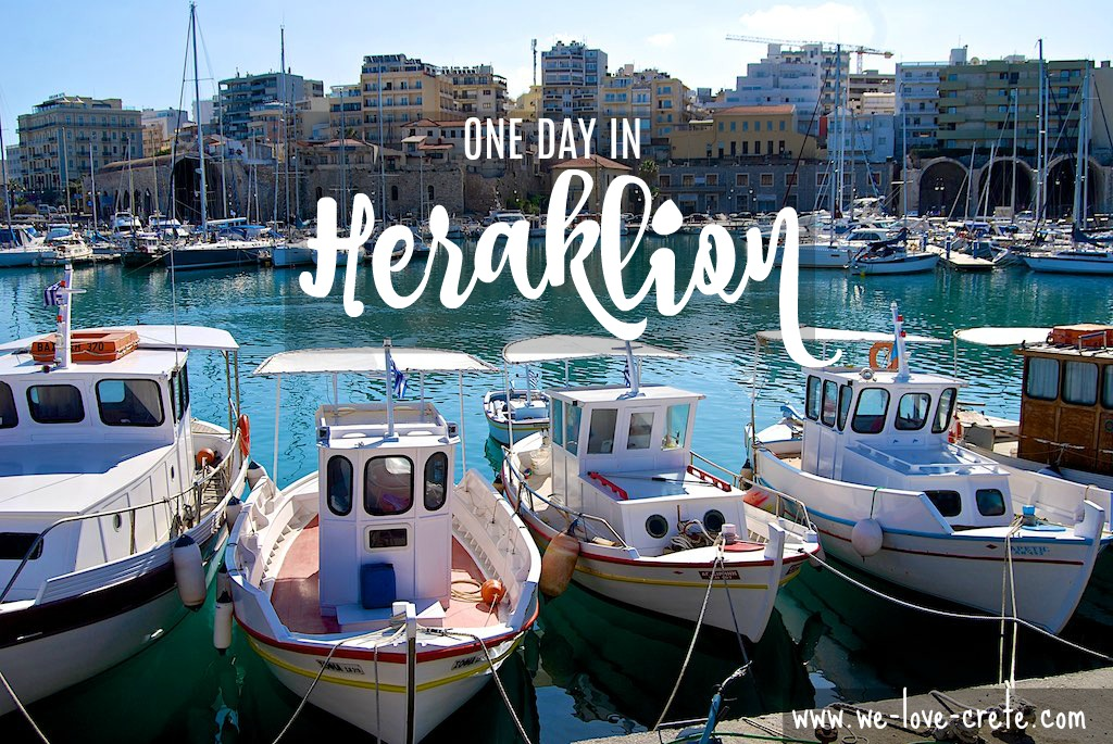 One Day in Heraklion - Walking Notes - The Old Port of Heraklion