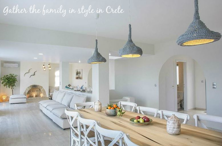 Gather the Family in Style in Crete