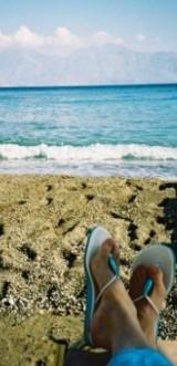 My favourite Crete Beach image - taken on Kitroplateia Beach
