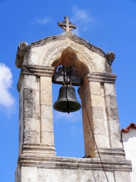 Church bell tower (image by Suzanne Creates)