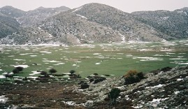 Nida Plateau in snow