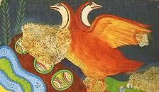 Partridge Fresco, Knossos Crete