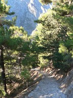 Samaria Gorge descent