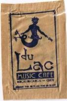 Cafe Du Lac - my sugar sachet - I couldn't resist the merman