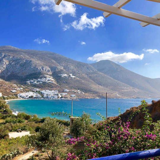 Aegiali in Amorgos