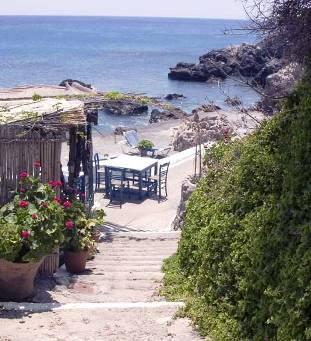 Agia Fotini tucked away on the south coast of Crete
