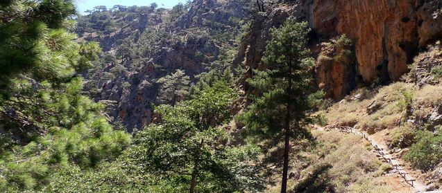 Agia Irini Gorge is a smaller, less crowded hike than Samaria
