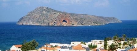 Agioi Theodori island off the north coast of Chania, Crete