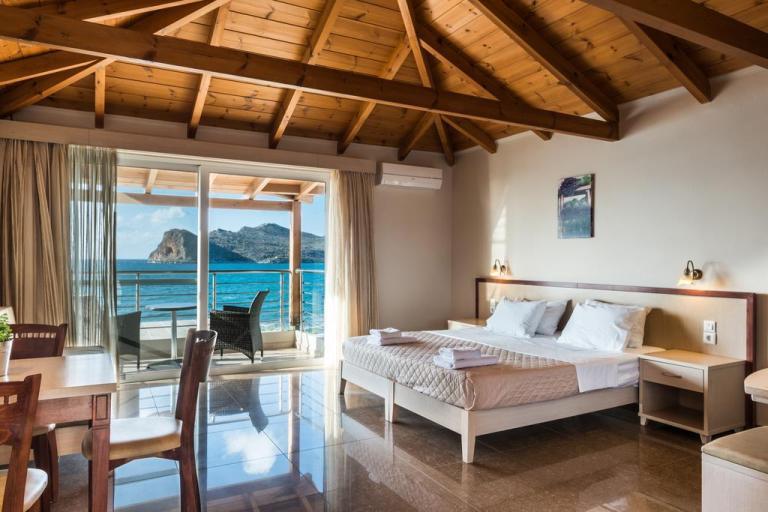 Vergina Beach Hotel, Agia Marina Beach, Crete