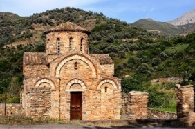 Byzantine church of Agia Panagia (image by Stavros Markopoulos)
