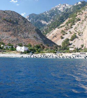 Agia Roumeli, Crete - view from the ferry