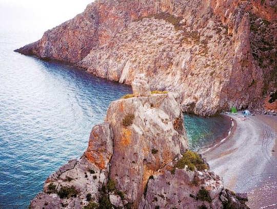 Agiofarago Beach, Crete