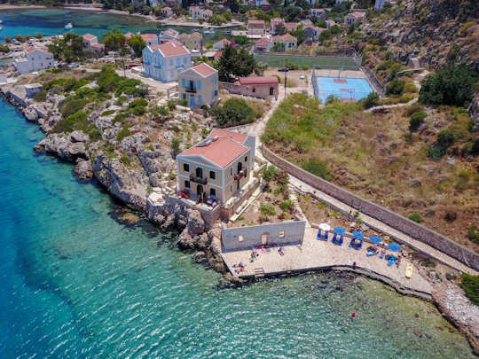 Agnanti Studios Kastellorizo - dip into the sea just metres from your room
