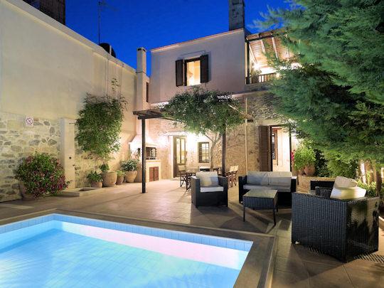 Agrielia Villa and pool, Sgourokefali, Crete