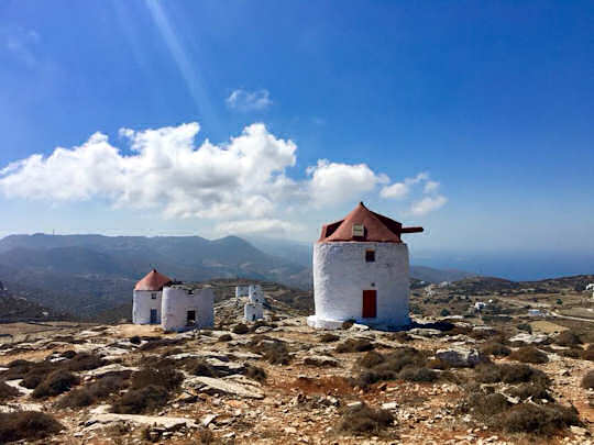 The high old windmills of Amorgos