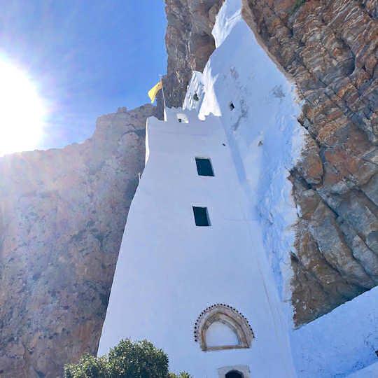Monastery of Panagia Chozoviotissa, Amorgos, Greece