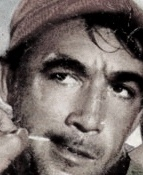 Anthony Quinn, from Zorba the Greek