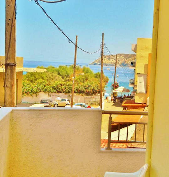 Villa Apollonia Apartments are centrally located in Agia Pelagia, Crete