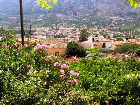Archanes Village in central Crete