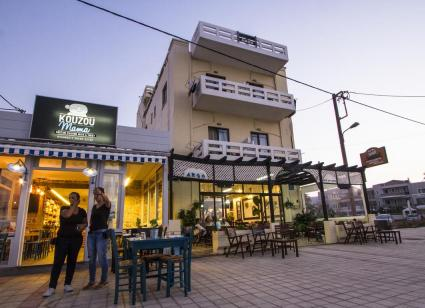 Argo Rooms are a good old-fashioned Greek pension with caring owners who cook you wonderful breakfasts