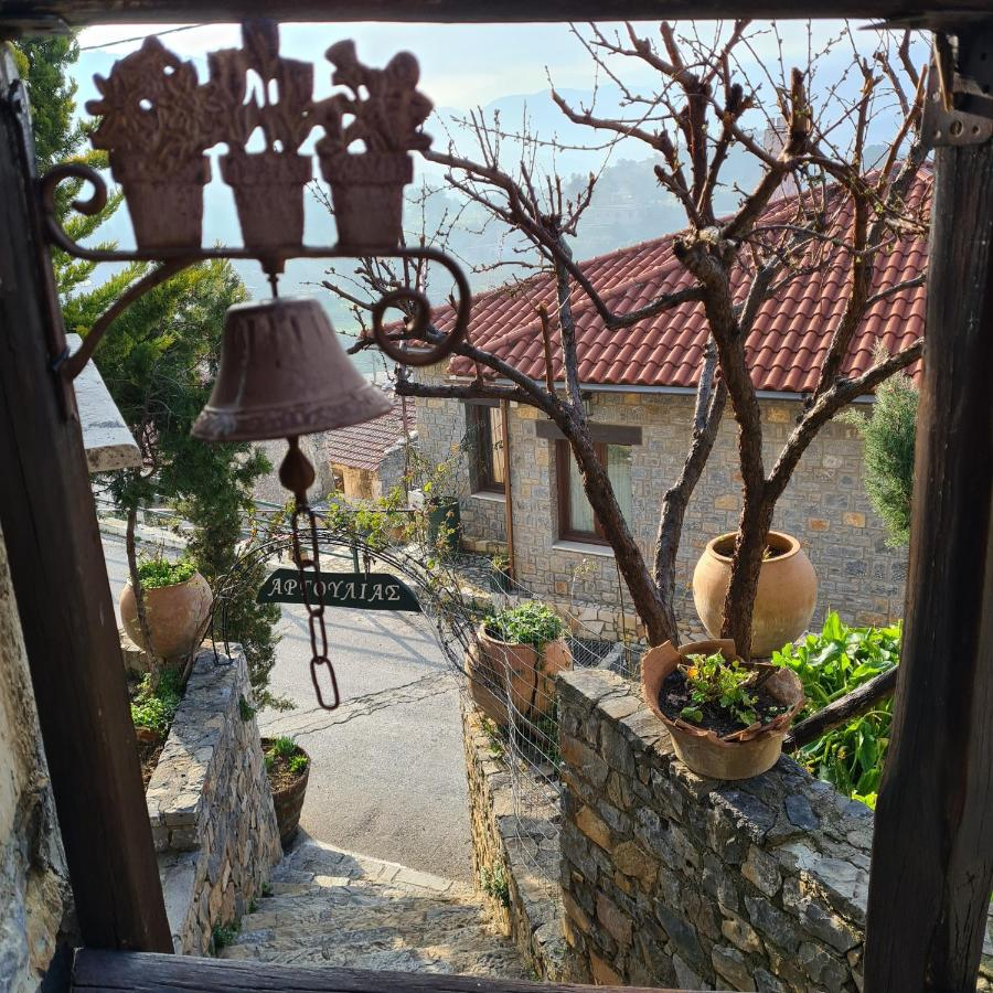 Argoulias Hostel is a beautiful village home of stone and wood in Tzermiado on Lasithi Plateau.